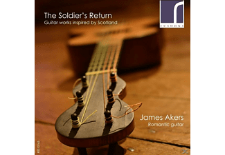 James Akers - The Soldier's Return - (CD)
