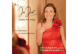Julia Kogan - In Jest-Comic Art Songs - (CD)