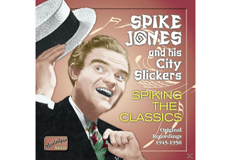 Spike Jones And His City Stickers - Spiking The Classics - (CD)