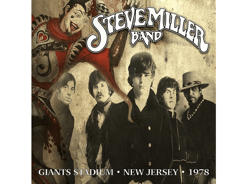 Steve Miller Band - Giants Stadium,East Rutherford NJ,25-06-78 [Vinyl]