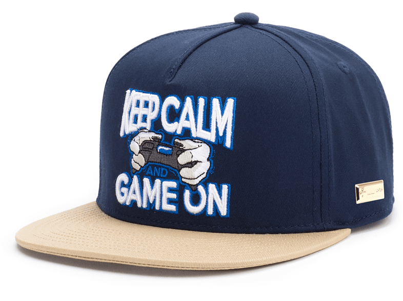 HANDS OF GOLD - Keep Calm And Game On Cap