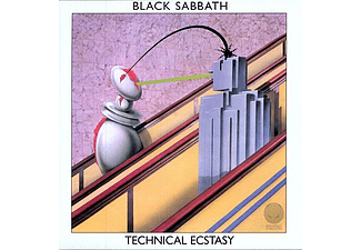 Black Sabbath - Technical Ecstasy (LP+CD,180g) (Vinyl LP (nagylemez))