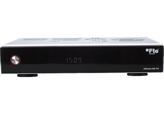 FTE MAXIMAL eXtreme HD iTV Single HD SAT-Receiver, Schwarz