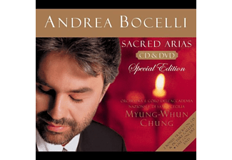 Andrea Bocelli - Sacred Arias (Special Edition) (CD + DVD)