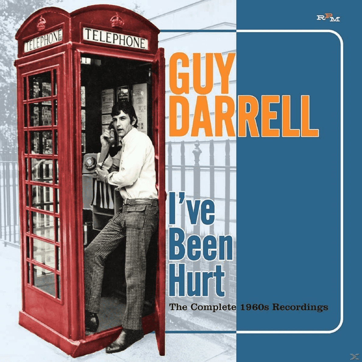 Guy Darrell - I´ve Been Hurt-The Complete 1960s Recordings - (CD)