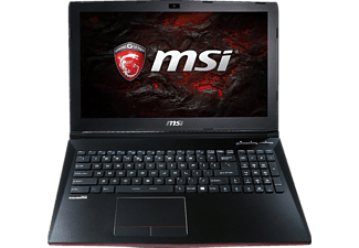 MSI GP62 7RD-090DE Leopard, Gaming-Notebook mit 15.6 Zoll Display, Core™ i7 Prozessor, 16 GB RAM, 256 GB SSD, 1 TB HDD, GeForce GTX 1050, Schwarz