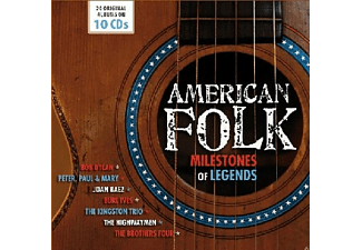 VARIOUS - American Folk-Milestones of Legends - (CD)