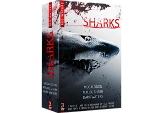 Coffret Sharks (3 films) DVD