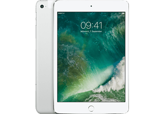 APPLE MK8E2FD/A iPad mini 4 WiFi + Cellular, Tablet mit 7.9 Zoll, 128 GB, LTE, iOS 9, Silber
