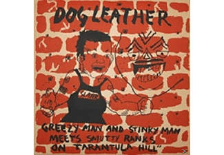 Dog Leather - Greezy Man And Stinky Man Meets Smutty Ranks On.. - (Vinyl)