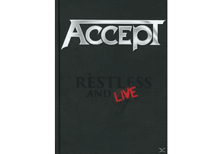 Accept - Restless And Live - (DVD + CD)