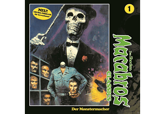 Macabros Classics 01: Der Monstermacher - 2 CD - Horror