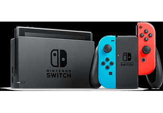 NINTENDO Switch Neonrot/blau