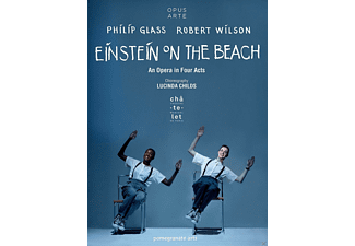 Antoine Silverman, Helga Davis, Kate Moran, The Lucinda Childs Dance Company, Philip Glass Ensemble - Einstein on the Beach - (DVD)