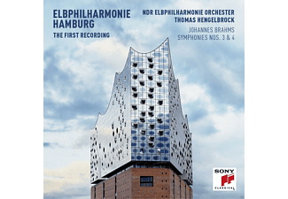 Ndr Elbphilharmonie Orchester - Sinfonien 3 & 4 (Ltd.Deluxe Edition/CD+BluRay) - (CD + Blu-ray Disc)