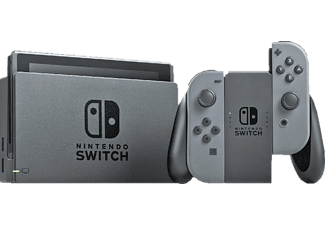"Consola - Nintendo Switch, 6.2"", Joy-Con, Gris"