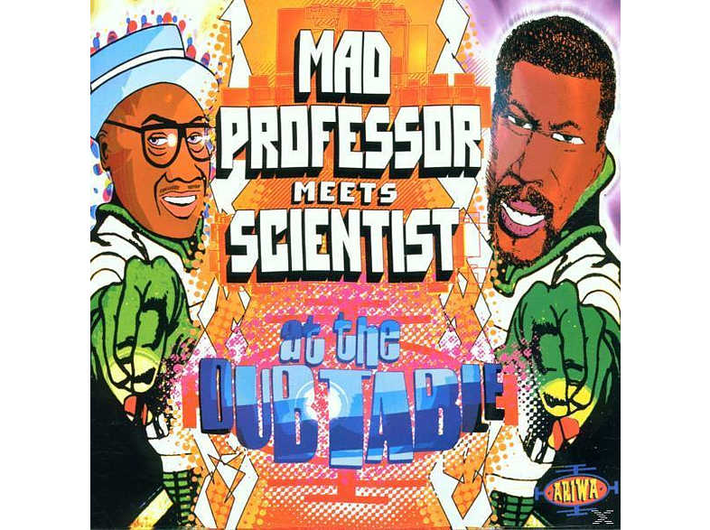Mad Professor Meets Scientist - At The Dub Table [CD]
