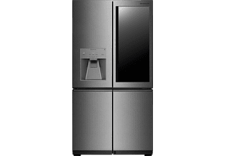 LG LSR100 SIGNATURE, Side-by-Side, A++, 1784 mm hoch, 912 mm breit, Edelstahl