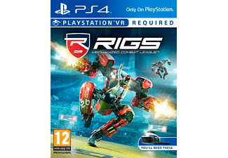 SONY Rigs Mechanized Combat League VR PS4/EXP