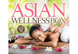 VARIOUS - Asian Wellness Box - (CD)