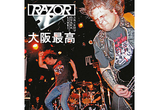 Razor - Live In Japan (Ltd.Translucent Blood-Red Vinyl) [Vinyl]