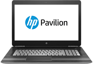 HP Pavilion 17-ab233ng, Gaming-Notebook mit 17.3 Zoll Display, Core™ i7 Prozessor, 8 GB RAM, 1 TB HDD, 128 GB SSD, GeForce GTX 1050, Silber