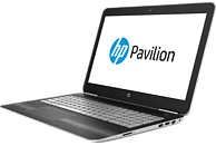 HP Pavilion 15-bc230ng, Gaming-Notebook, Core™ i7 Prozessor, 1 TB HDD, GeForce GTX 1050, Silber