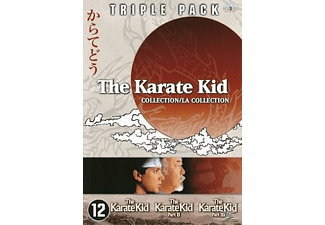Karate Kid Triple Pack DVD