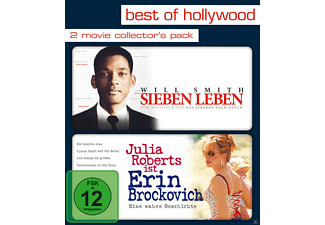 Sieben Leben / Erin Brockovich (Best of Hollywood) - (Blu-ray)