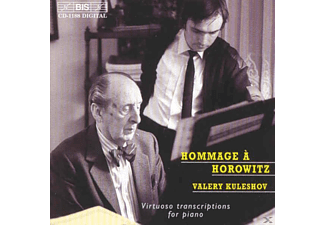 Valery Kuleshov - HOMAGE TO HOROWITZ  - HOROWITZ TRAN - (CD)