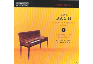 Miklos Spanyi - C.P.E. Bach: The Solo Keyboard Music - (CD)