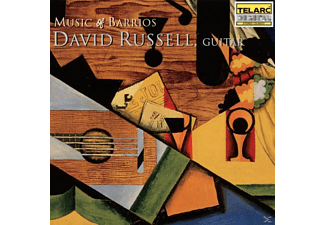 David Russell - Music Of Barrios - (CD)