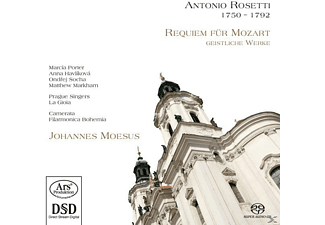VARIOUS - Requiem For Mozart - Geistliche Werke [Hybrid Sacd] - (CD)