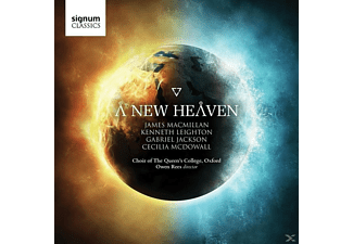 Choir Of Queens College Oxford - A New Heaven - (CD)