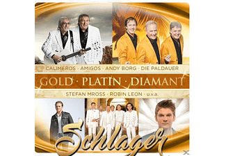 VARIOUS - Schlager-Gold-Platin-Dia - (CD)