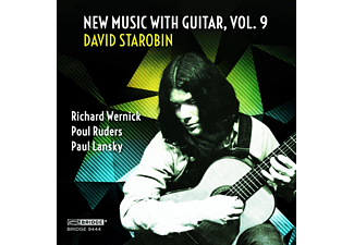 David Starobin - New Music With Guitar Vol.9 - (CD)