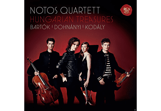Notos Quartett - Hungarian Treasures-Bartók,Dohnányi,Kodály - (CD)