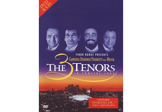 José Carreras, Plácido Domingo, Luciano Pavarotti, Los Angeles Philharmonic, Los Angeles Music Center Opera Chorus - 3 Tenors With Mehta In Concert 1994 - (DVD + CD)