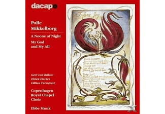Copenhagen Royal Chapel Choir, VARIOUS - A Noone Of Night. My God And My All - (CD)