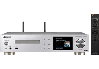 PIONEER Stereo versterker FlareConnect CD DAB+ Zilvers (NC-50DAB-S)