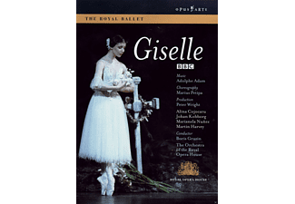 Orchestra Of The Royal Opera House, VARIOUS - Giselle - (DVD)