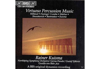 Rainer & Norrköping Sinfoniker Kuisma - VIRTUOSO PERCUSSION MUSIC - (CD)
