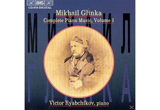 Victor Ryabchikov - COMPLETE SOLO PIANO MUSIC VOL 1 - (CD)