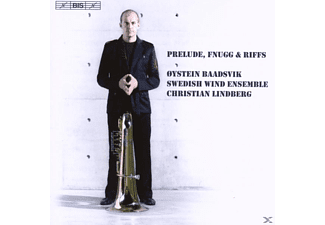 Oskar Frederik Lindberg, Baadsvik, Swedish Wind Ensemble - Prelude, Fnugg and Riffs - (CD)