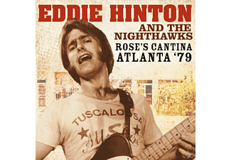 Eddie Hinton, Nighthawks - Rose's Cantina Atlanta '79 - (CD)