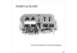 Nash The Slash - And You Thought You Were Normal (Splatter Vinyl) - (Vinyl)