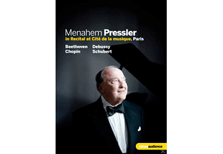 Menahem Pressler - In Recital at Cité de la musique Paris - (DVD)