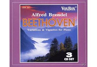 Alfred Brendel - Variations & Vignettes For Piano - (CD)