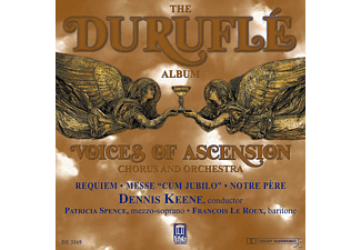 Dennis/voices Of Ascension Keene - Durufle:Requiem/Messe Cum Jubilo - (CD)