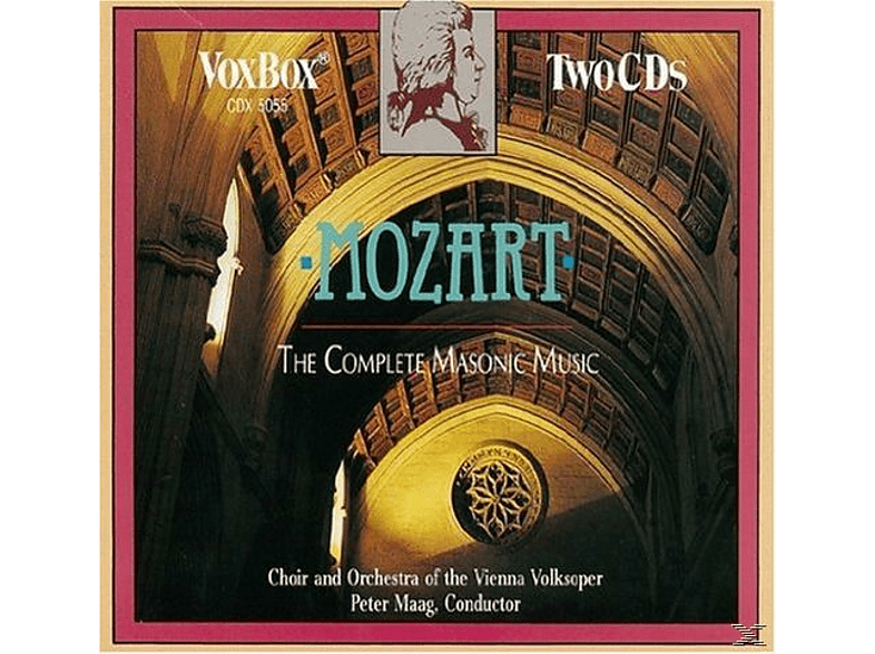 Choir & Orchestra Of The Vienna Volksoper - The Complete Masonic Music [CD]